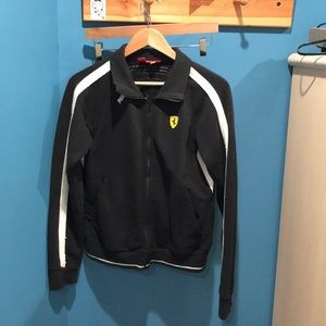 Authentic puma men's Ferrari track jacket